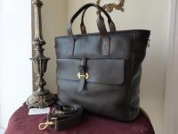 Mulberry Toby Large Travel Tote Shoulder Bag.