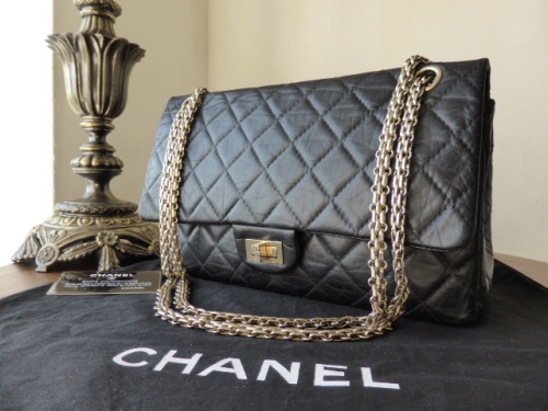 Chanel Reissue 226 Mademoiselle in Midnight with Jewellery Chain