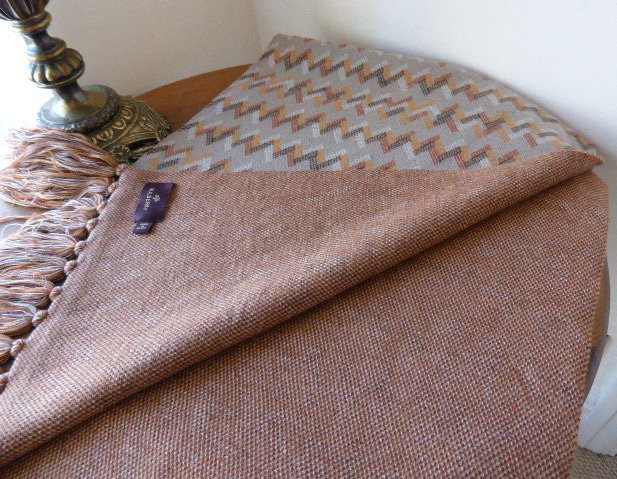 mulberry shawl chevron cashmere mix