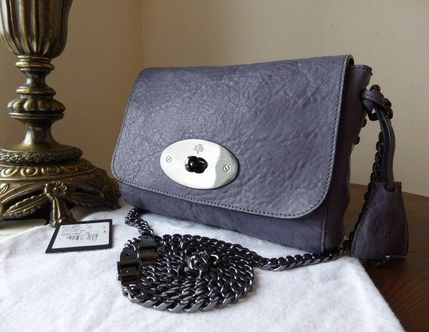 mulberry lily buckle chain foggy grey