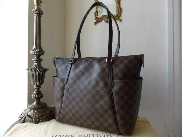 Louis Vuitton Totally MM in Damier Ebene