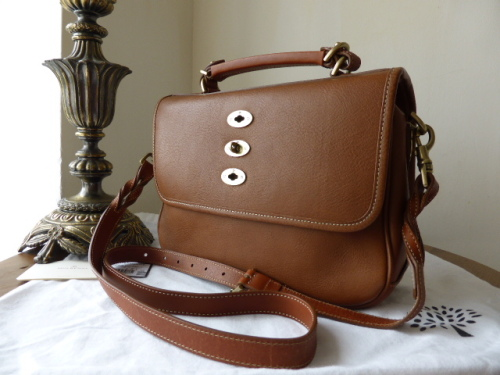 Mulberry Bryn in Oak Natural Leather
