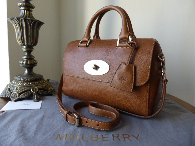Mulberry Del Rey (Small) in Oak Natural Leather - New