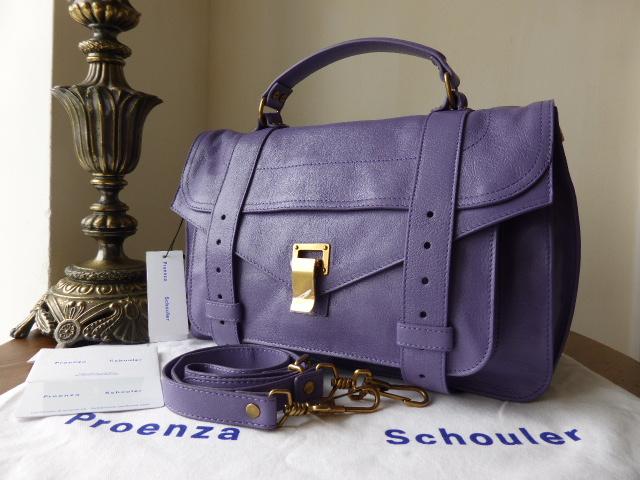 Proenza Schouler PS1 Medium in Berry - New*