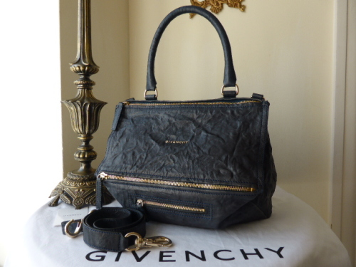 Givenchy Pandora Medium in Washed Blue Leather - ref 1