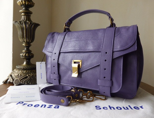 proenza schouler 1 berry medium new