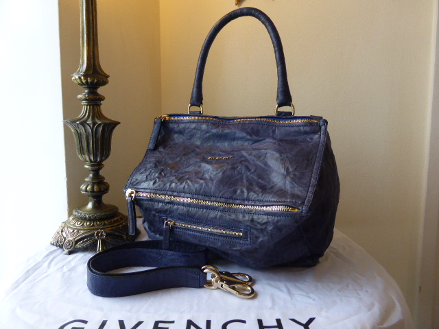 Givenchy Pandora Medium in 'Bright' Blue Leather - ref 2