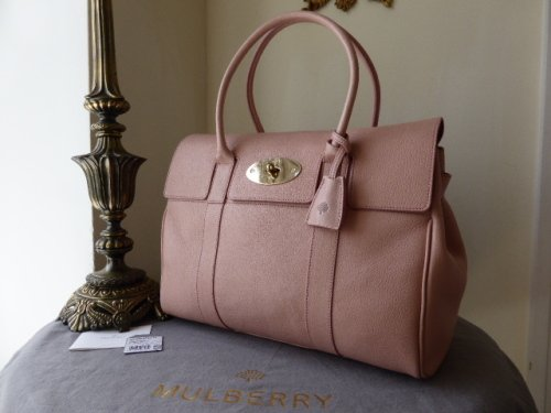 e4b3ec0d2546 Mulberry Bayswater Blush Glossy Goat Leather - SOLD