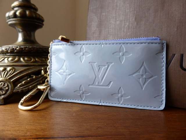 Louis Vuitton Porte-Clefs Pouch in Lavende Vernis - New