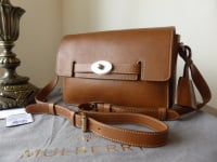 Mulberry Bayswater Shoulder in Oak Natural Leather - New*