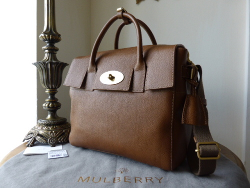 Mulberry Cara Delevingne Bag in Oak Natural Leather - New*