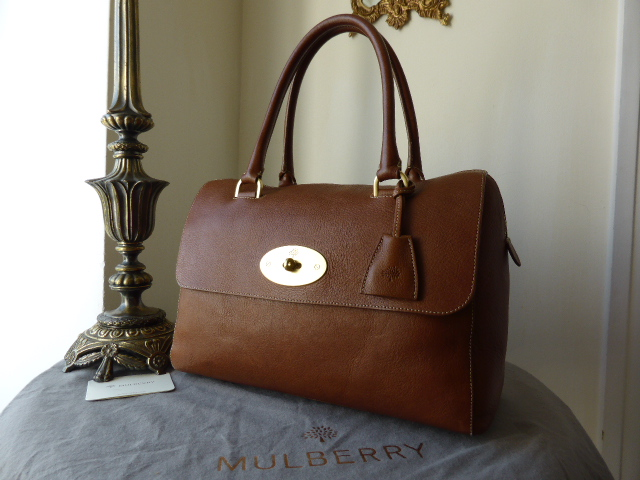 Mulberry Del Rey in Oak Natural Leather