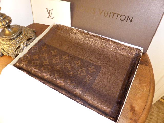 Louis Vuitton Monogram Shine Shawl  - New*