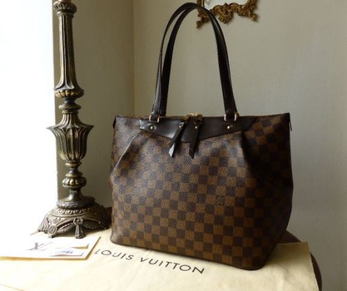 Louis Vuitton Westminster GM in Damier Ebene