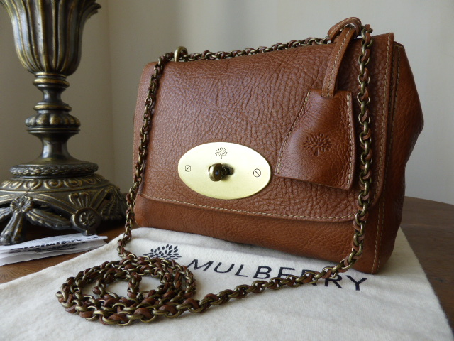 Mulberry Lily in Oak Natural Leather (Sub)