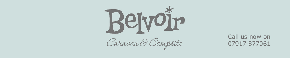 Belvoir Caravan and Campsite, site logo.
