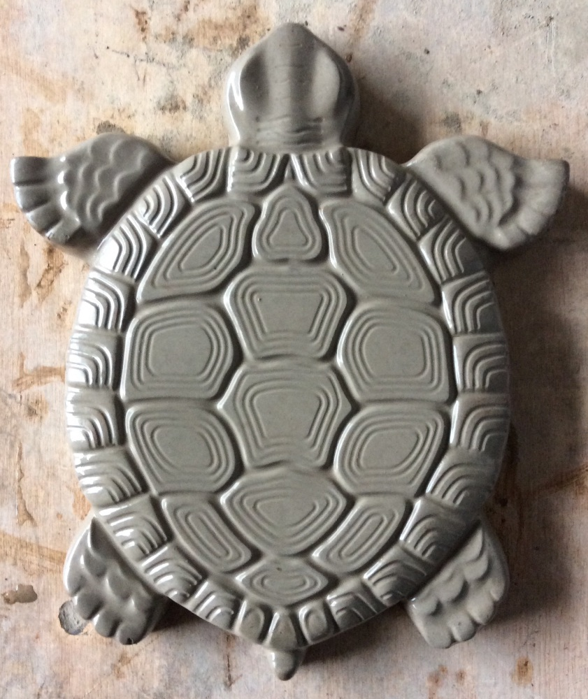 Turtle design stepping stone