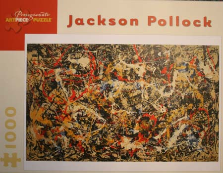 Jackson Pollock and the Chakras - Jigsaw Puzzle