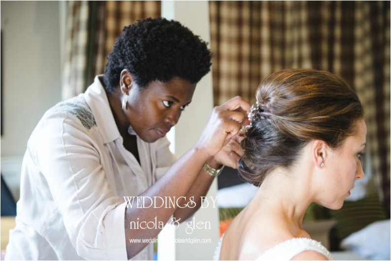Sheenas wedding hairstyles-Lower-Slaughter-manor-wedding-hairstylist-image by Nicola and Glen photography