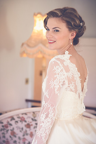 Bridal hairstyled by Sheenas Wedding Hairstyles-Uk-Image by Danielle Boxall photography