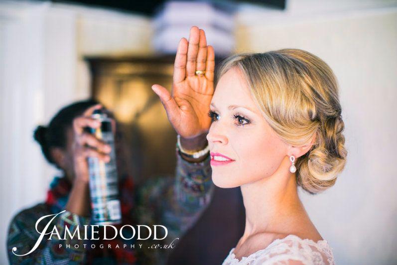 Bridal hair stylist Gloucestershire