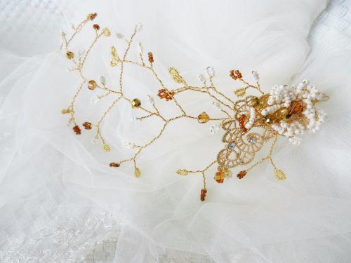 Bridesmaids-hair accessory-head piece DSCN3974