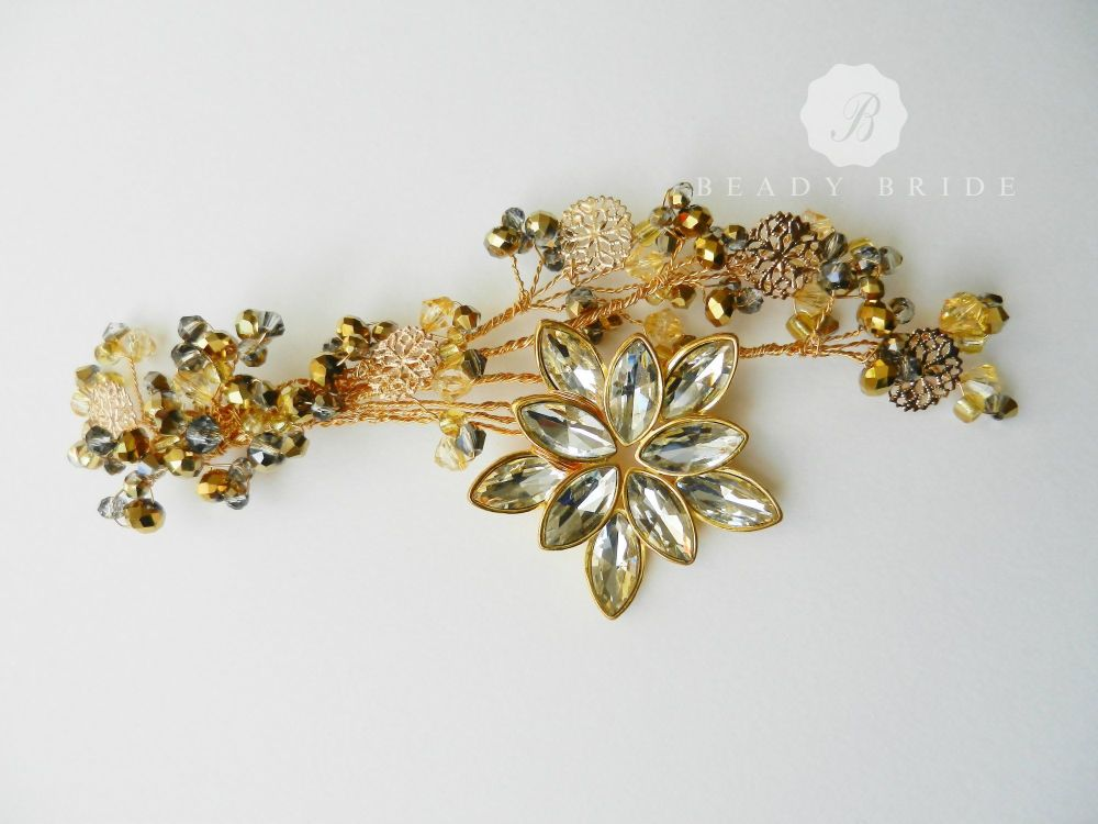 Starlight-Bridal Hair Accessory by Beady Bride (1)