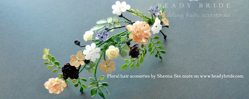 Delicate-and-intricate-bespoke floral-bridal-wedding-hair-accessory-by-Bead