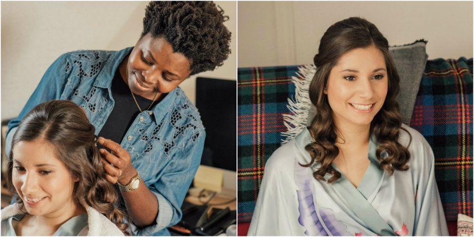 bridesmaids-wedding-hair stylist-Gloucestershire-UK