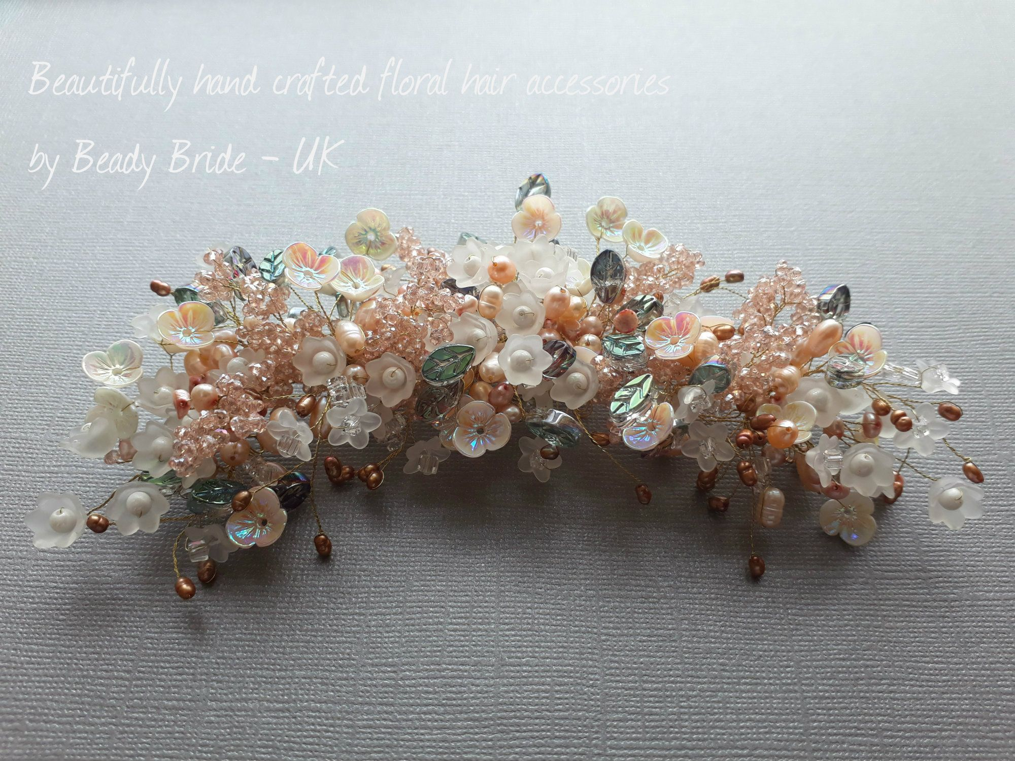 Wedding hair accessories by Cotswolds bridal hair stylist-UK