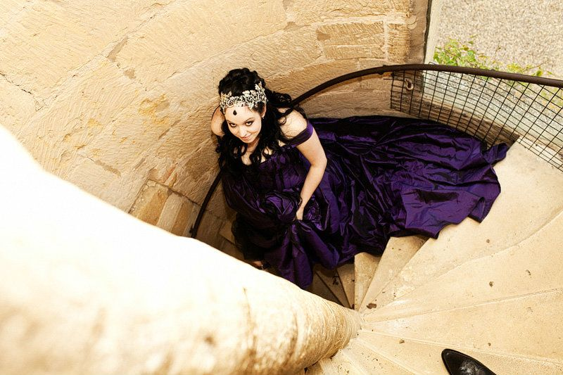 Gothic wedding- Gloucestershire-hair stylist-TV-248
