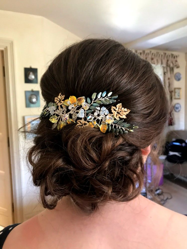 Bespoke wedding hair peices and bridal wedding hair accessories-UK-SFYA-0