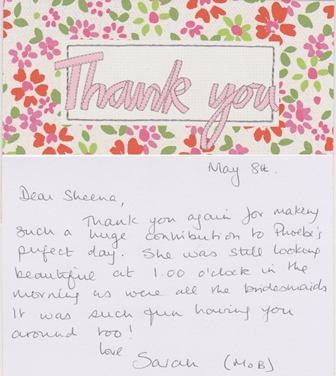t-thank you card Sarah Phoebe
