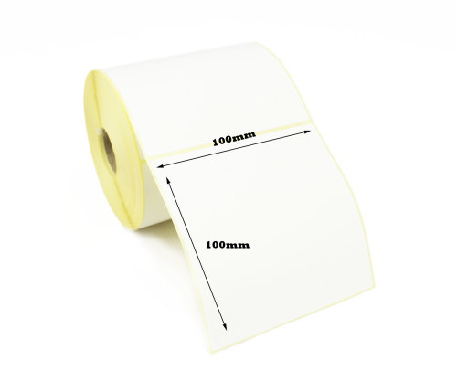 100x100mm Direct Thermal Top Coated Labels 50,000 Labels)