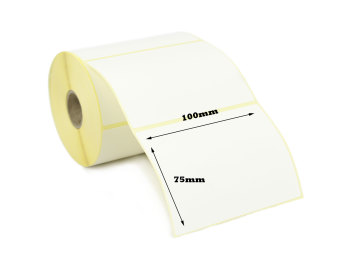 100x75mm Direct Thermal Top Coated Labels (50,000 Labels)