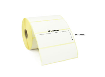 101.6 x 38.1mm Direct Thermal Labels (20,000 Labels)