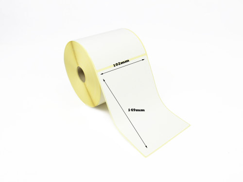 102 x 149mm Direct Thermal Labels (50,000 Labels)