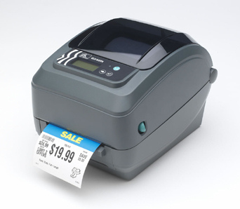 Zebra GX420t Thermal Transfer Desktop Label Printer