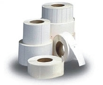 60mm x 60mm Thermal Transfer Sandwich Labels 38mm (5,000 Labels)