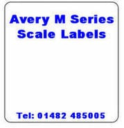 Avery M Series Scale Labels