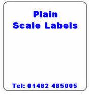 Plain Scale Labels
