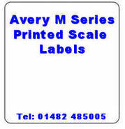 Avery M Series Printed Scale Labels