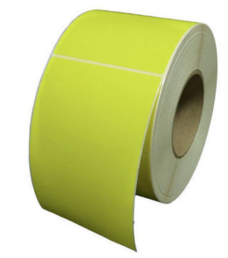 50x25mm Yellow Thermal Transfer Labels (5,000 Labels)
