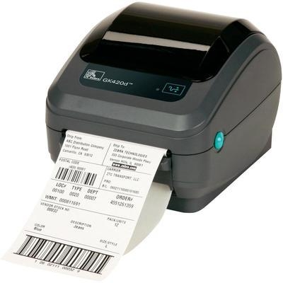 Zebra GK420d Desktop Direct Thermal Label Printer Including 1,000 Free Labe