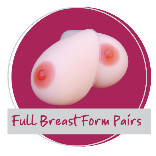 <!-- 003 -->Prosthetic Breasts - Full Breast Forms