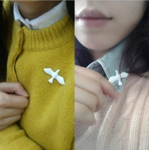White Dove Charity Pin