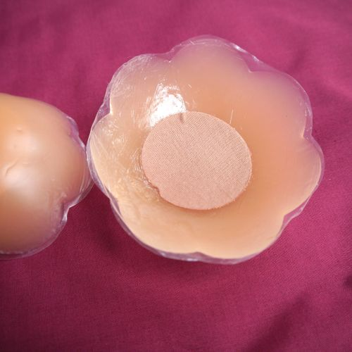 Secret Silicone Nipple Covers - Flower - Super Large Size DOUBLE PACK