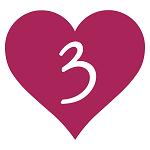 3 Heart 150 150