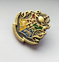 Hoggyhogwarts Crest Pin