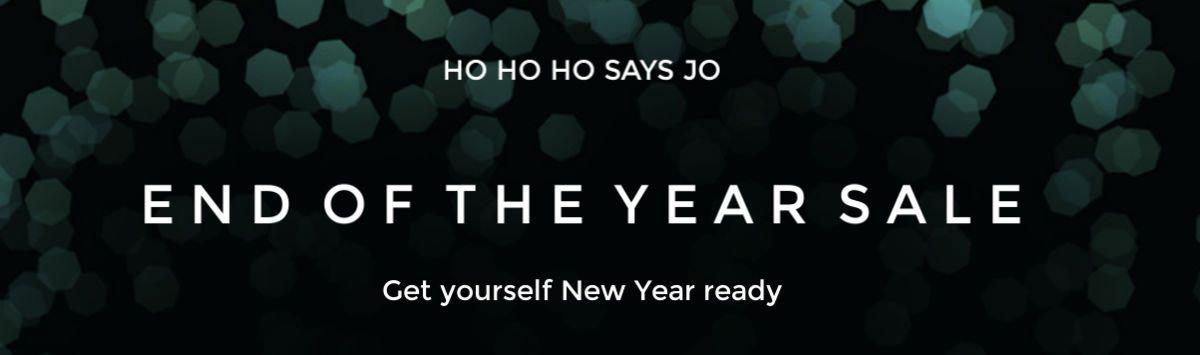 Ho Ho Ho says Jo